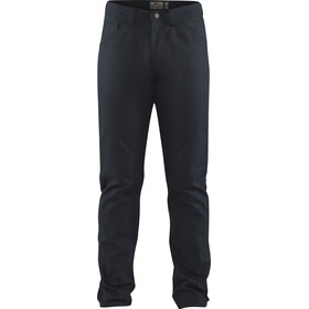 Fjällräven Greenland Canvas Jeans Heren, dark navy